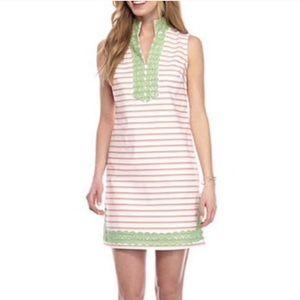 NWT Crown & ivy striped tunic dress